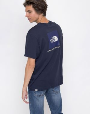 The North Face Red Box Urban Navy / Vintage White