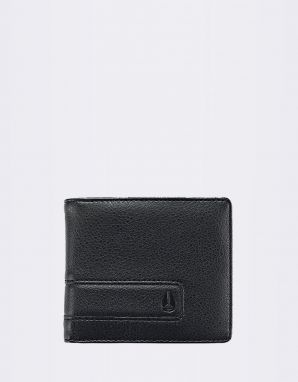 Nixon Showdown Bi-Fold Zip All Black