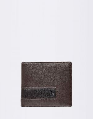 Nixon Showdown Bi-Fold Zip Brown