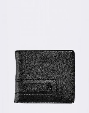 Nixon Showtime Bi-Fold ID Zip All Black