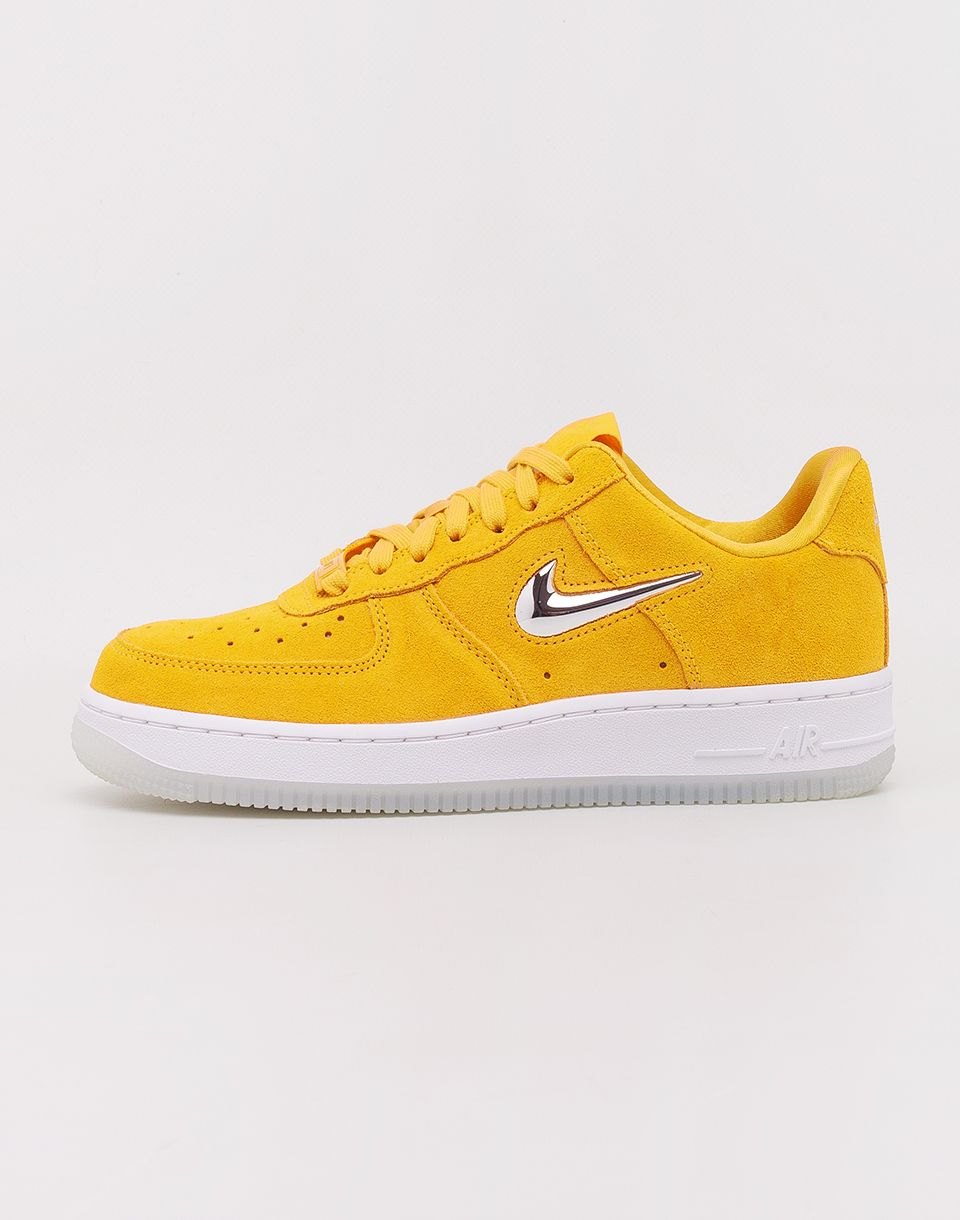 a1d1549dc6155 Nike Air Force 1 '07 Premium LX Yellow Ochre/ Metallic Silver - White  značky Nike - Lovely.sk