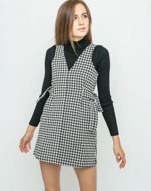 84d22ba9c73b Blancheporte Rovné šaty s grafickým vzorom čierna koralová 36 značky ...
