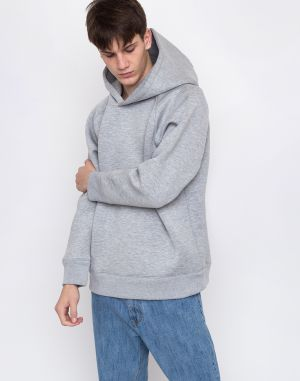 M.C.Overalls Bonded Spacer Hooded Light Grey