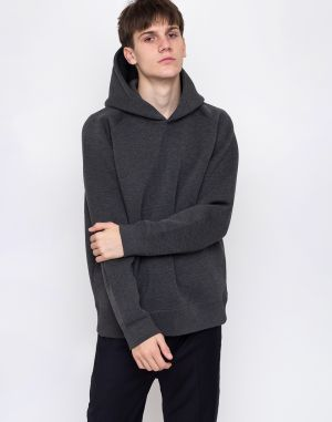 M.C.Overalls Bonded Spacer Hooded Charcoal