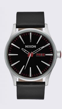 Nixon Sentry Leather Black