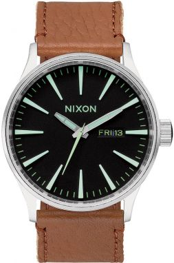 Nixon SENTRY LEATHER BLACKSADDLE