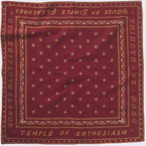 Deus Ex Machina Sanders Bandana Rumba Red
