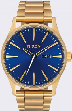 Nixon Sentry SS All Gold/ Blue Sunray