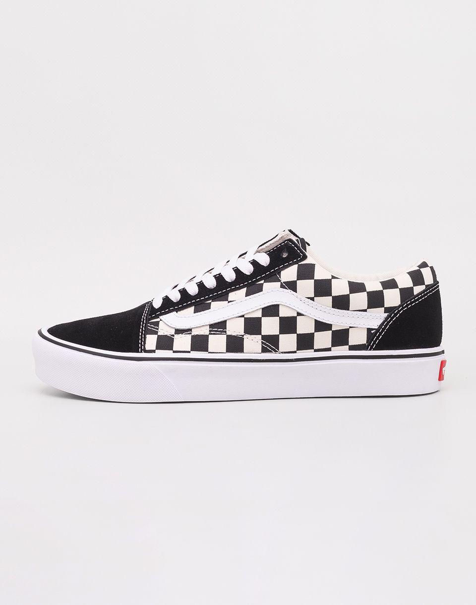 Vans Old Skool Lite (Checkerboard) Black  White značky Vans - Lovely.sk 9c2e29e9416