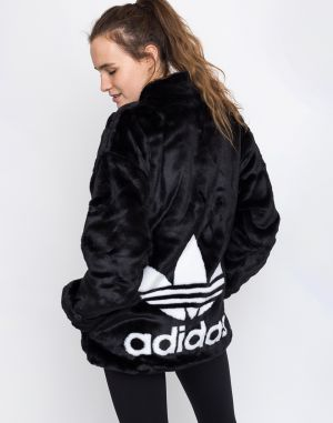 adidas Originals Fur Jacket Black