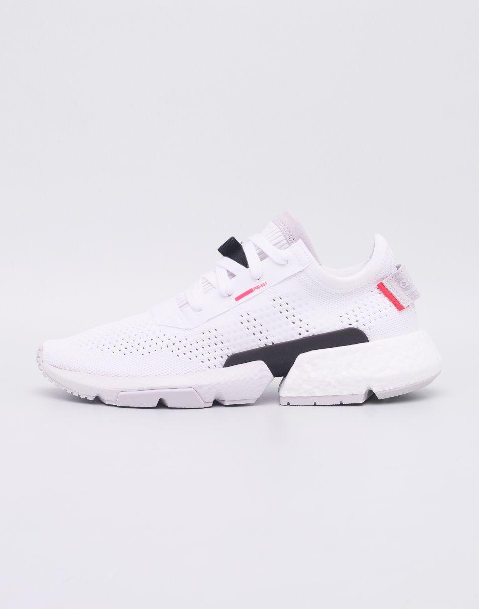 3b10d6d13508e adidas Originals POD-S3.1 Footwear White/ Footwear White/ Shock Red ...