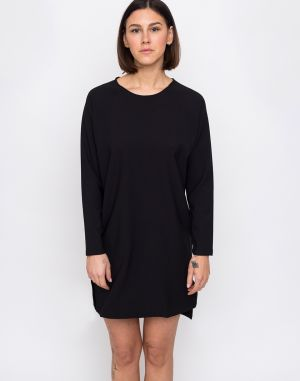 Makia Current Long Sleeve Dress Black