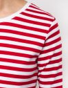 Makia Verkstad Long Sleeve Red/White galéria
