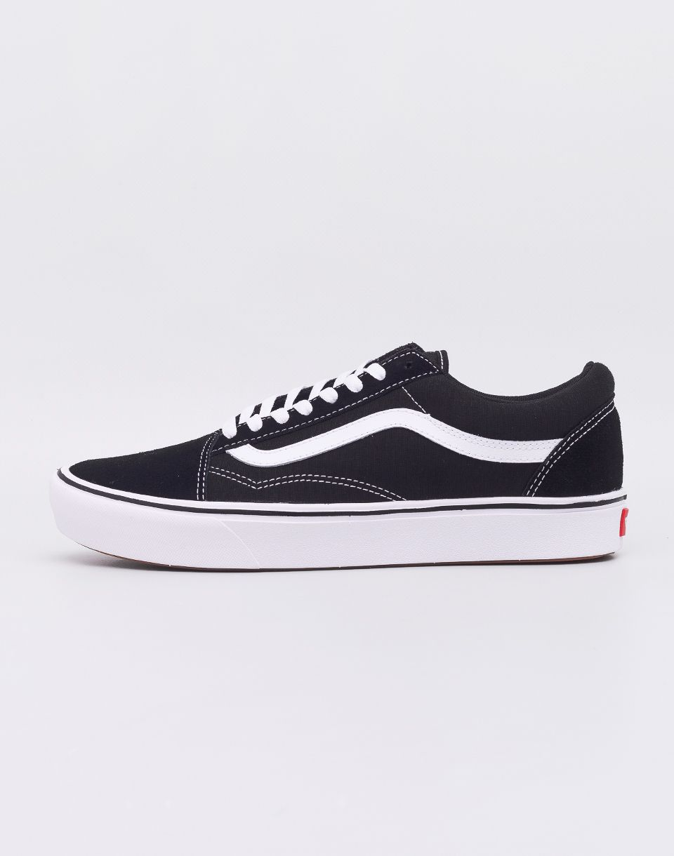 9fc6cad789622 Vans ComfyCush Old Skool Black/True White značky Vans - Lovely.sk