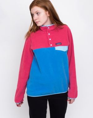 Patagonia LW Synch Snap-T Pullover Port Blue
