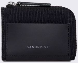 Sandqvist Elof Black with Black Leather