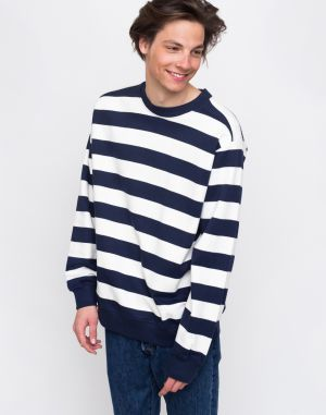 Wemoto Crew Stripe Navy Blue