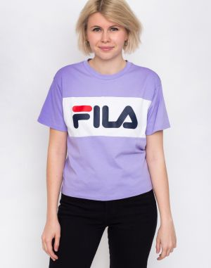 Fila Allison Tee Violet Tulip/Bright White