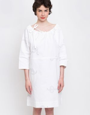 Buffet Domsa Dress White