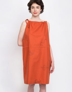 Buffet Doss Dress Orange