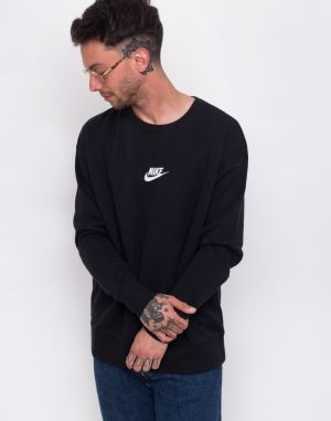 9f6adcfce4 Čierno-sivá pánska mikina s kapucňou Nike NSW značky Nike - Lovely.sk