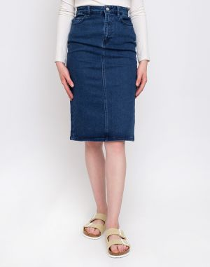 Edited Mariel Skirt Mid Blue