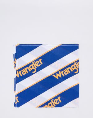 Wrangler B&Y Bandana White