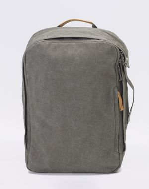 Qwstion Backpack Organic Washed Grey Stredné (21 - 30 litrov)