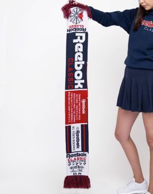 Reebok Classics Football Fan Scarf Collegiate Navy