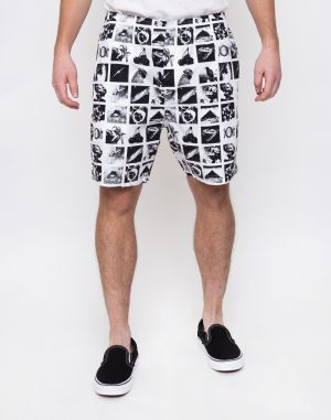 Obey Easy Chaos Short Zine White