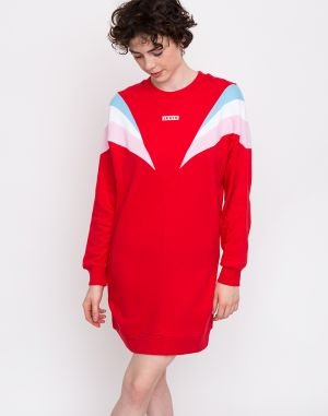 Levi's® Florence Crew Dress Red