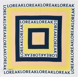 Loreak Foulards Mini Annyeonghaseyo Multicolored