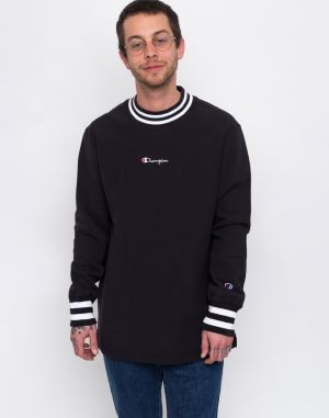 Champion High Neck Sweatshirt Black