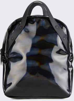 Rains Holographic Backpack Go 25 Holographic Black Malé (do 20 litrov)