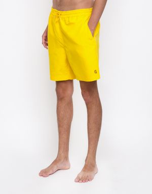 Carhartt WIP Chase Swim Trunks Primula/Gold