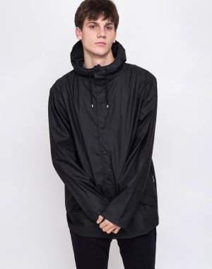 Rains Jacket 01 Black