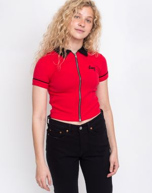 Lazy Oaf Lazy Double Zip Shirt Red