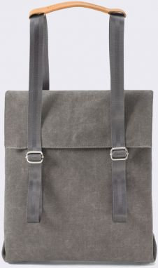 Qwstion Small Tote Organic Washed Grey Malé (do 20 litrov)