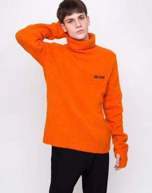 Cheap Monday Tap Knit Echologo Signal Orange