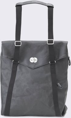 Qwstion Tote Organic Jet Black Malé (do 20 litrov)