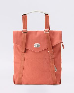 Qwstion Tote Organic Brick