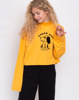 Lazy Oaf Underdog Long Sleeve Top Yellow