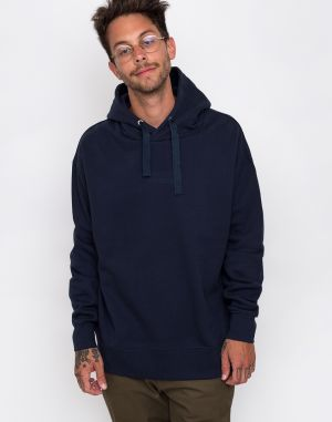 Knowledge Cotton Fleece Hood Sweat 1001 Total Eclipse