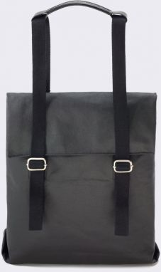 Qwstion Small Tote Organic Jet Black Malé (do 20 litrov)