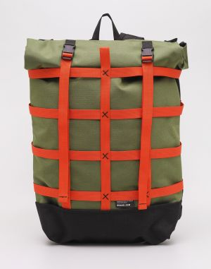 Braasi Industry Webbing Green/Orange