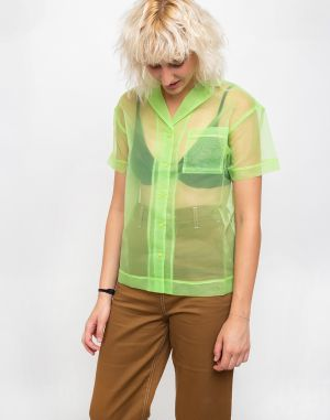 The Ragged Priest Tropics Shirt Lime