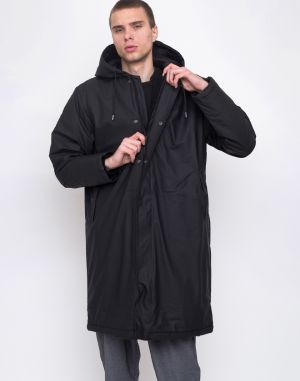 Rains Padded Coat 01 Black