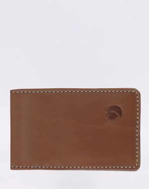 Fjällräven Övik Card Holder Large 249 Leather Cognac