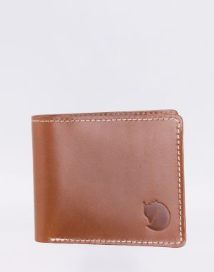 Fjällräven Övik Wallet 249 Leather Cognac