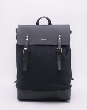 Sandqvist Hege Navy with Navy Leather